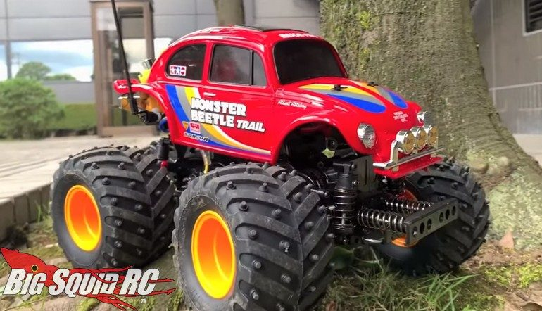 Tamiya Monster Beetle Trail Edition Video