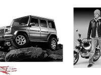 Tamiya Mercedes Benz New CC02 Rider Figure