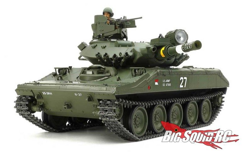Tamiya US M551 Sheridan Tank Full Option