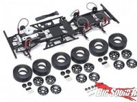 Team Raffee RC Defender D130 6x6 Chassis Kit