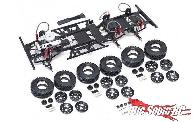 Team Raffee RC Defender D130 6x6 Chassis Kit