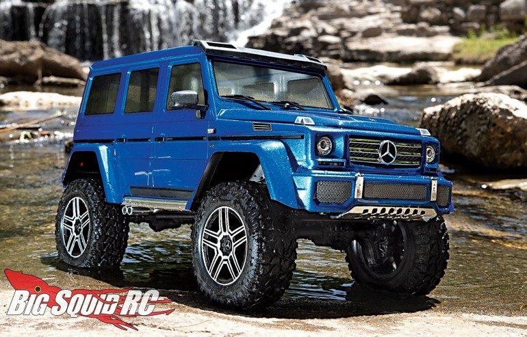 Traxxas TRX-4 Mercedes-Benz G 500 4×4² Scale Crawler « Big