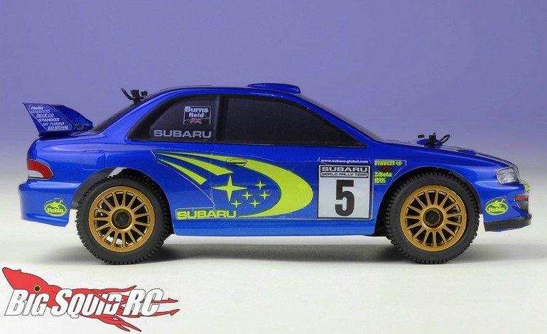 Carisma RC GT24 Subaru Rally Car 1/24