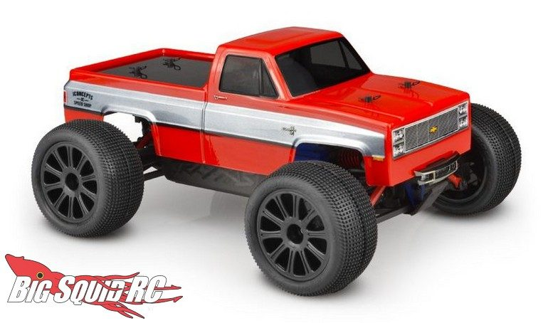 JConcepts 1982 GMC K10 Traxxas 16th E-Revo Body