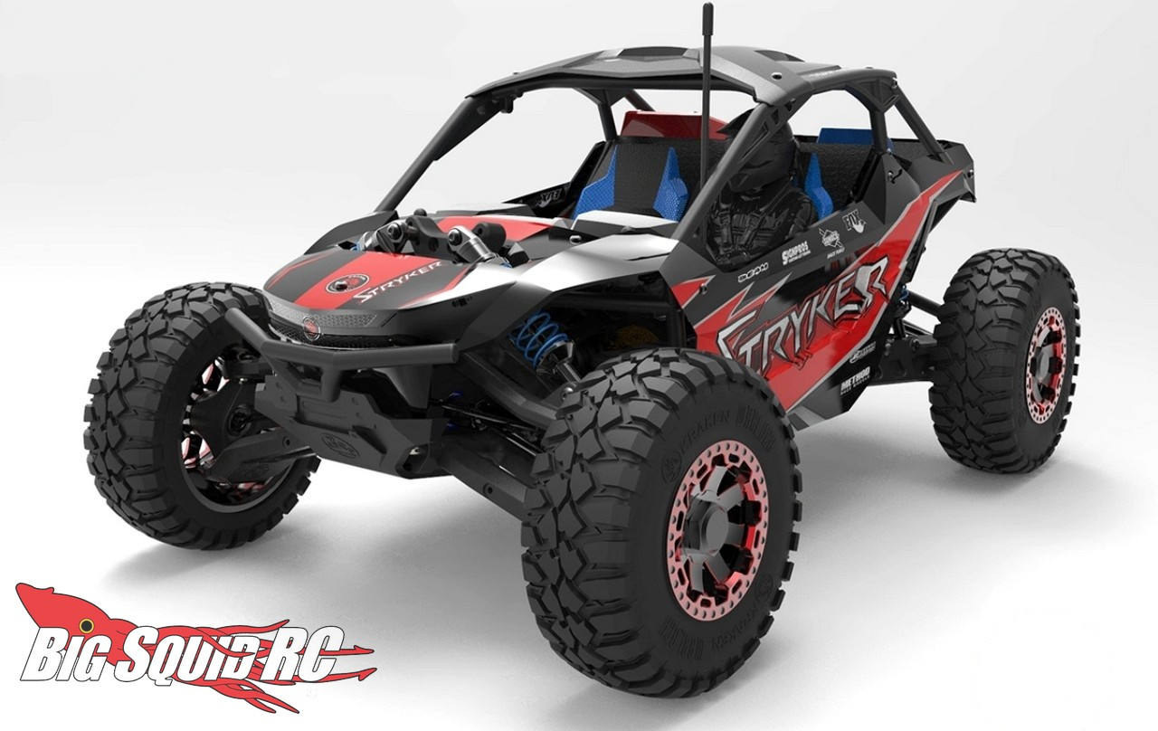Kraken RC Stryker 1/10 Hyper-Scale UTV/SXS « Big Squid RC