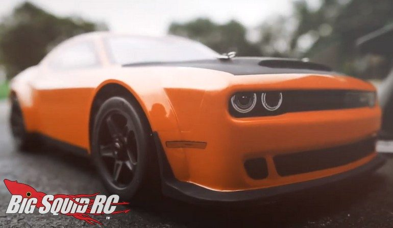 Kyosho 2018 Dodge Challenger SRT Demon Go Mango