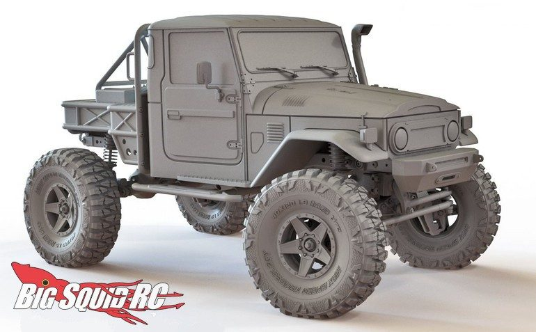 Max Speed Technology J45C Scale Off-Road Body RC