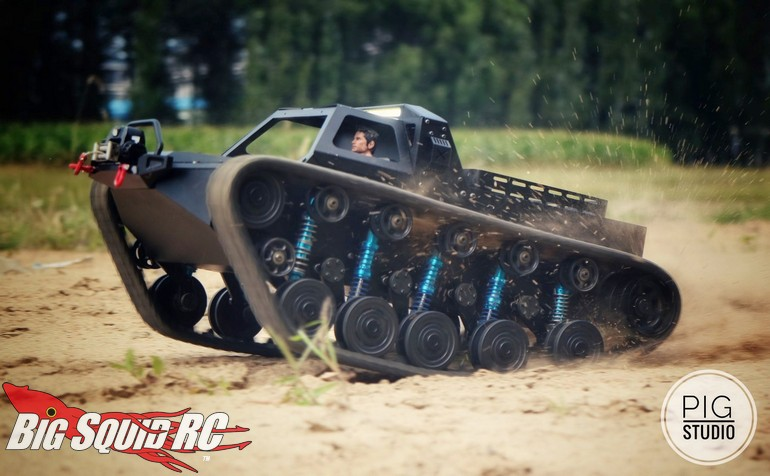 Ripsaw Ev2 For Sale >> Pre Order Now Open Pig Studio 1 10 Ripsaw Tank Big Squid