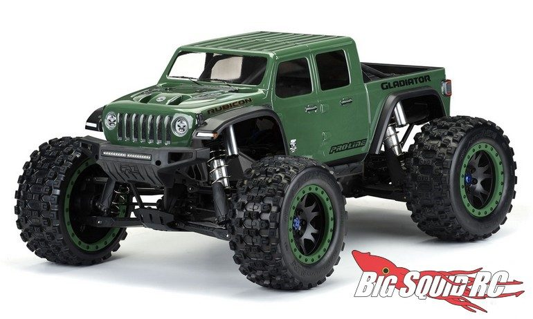 Pro-Line Jeep Gladiator Rubicon Clear Body Traxxas X-Maxx