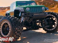 Pro-Line Jeep Gladiator Rubicon Body Traxxas X-Maxx Video