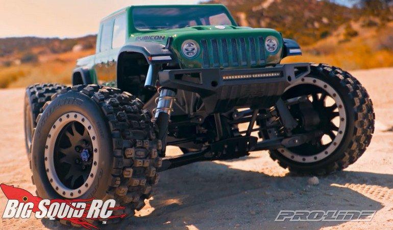 Pro-Line Jeep Gladiator Rubicon Body Traxxas X-Maxx Video
