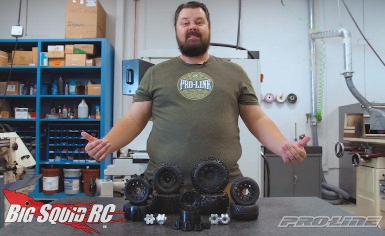 Pro-Line Removable Hex Wheel Video RC