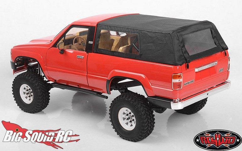 RC4WD Tough Armor Cloth Top Metal Cage 4Runner