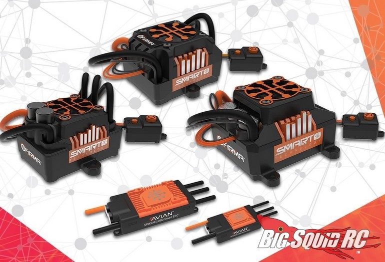 Spektrum SMART ESC Firma Avian