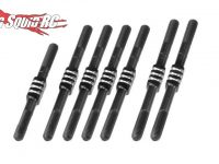 JConcepts B74 Fin Titanium Turnbuckle Set Black