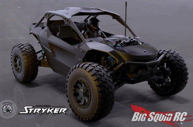 Kraken RC Stryker UTV Crowdfunding