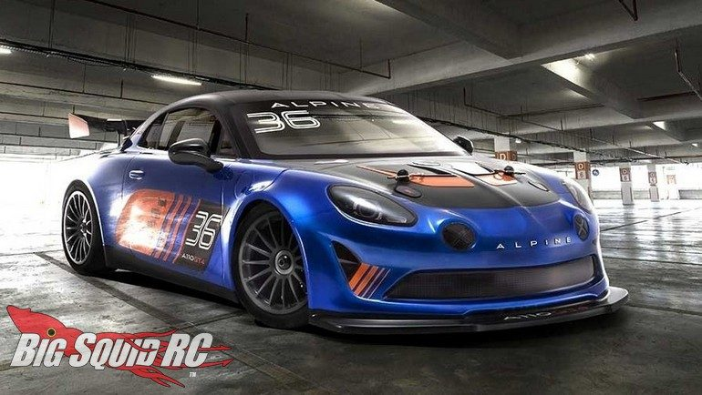 Kyosho Alpine GT4 Fazer Mk2 FZ02 Readyset