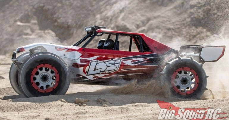 Losi DBXL-E 2.0 RTR Smart Fox Body