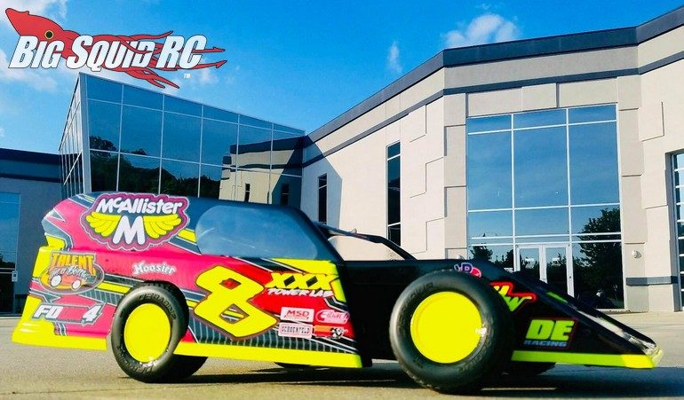 McAllister Racing High Side Tickler Midwest Modified RC Body