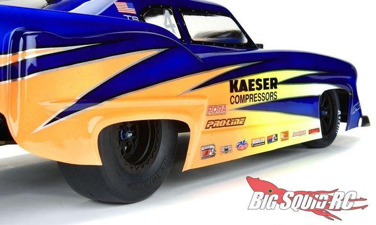 Pro-Line Belted Reaction HP SC Drag Racing Belted Tires