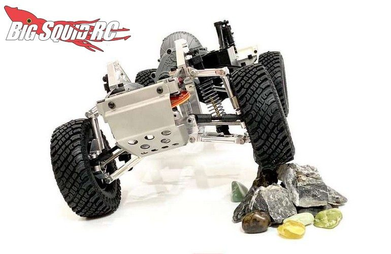 Roll Scale Independent Suspension Axial SCX10 II