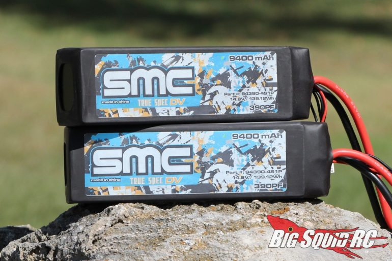 SMC Racing 4S 9400mAh 75C LiPo Battery Review