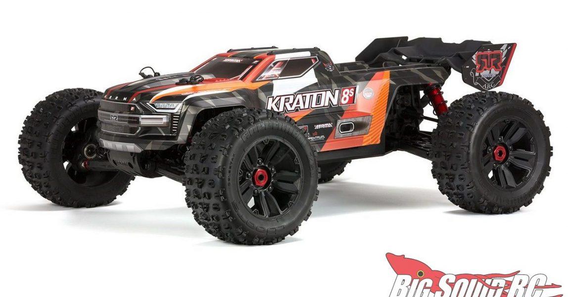 ARRMA 1 5 Kraton 8S BLX Monster Truck RTR