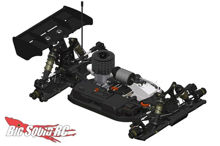 HB Racing D819RS 1/8 Nitro Buggy Kit