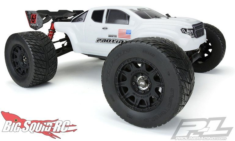 Pro-Line Street Fighter HP 3.8 BELTED Tires Mounted