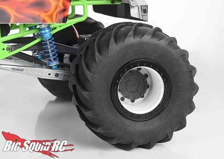 RC4WD Racing Monster Truck Wheels Tamiya Clod Buster