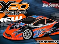 Serpent Medius X20 Touring Car Kit RC