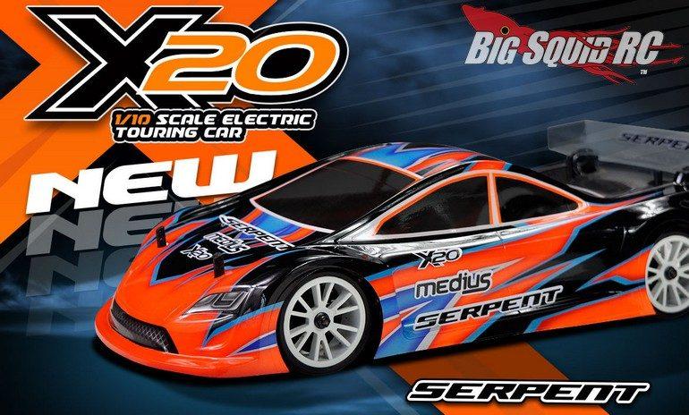 Serpent Medius X20 Touring Car Kit RC
