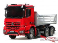 Tamiya Mercedes-Benz Arocs 6x4 Tipper Truck Red Silver Edition