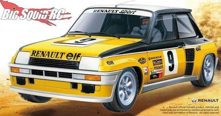 Tamiya Renault 5 Turbo M-05Ra