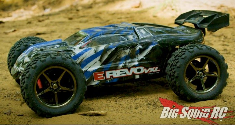 Traxxas 1/16 E-Revo New Colors Video