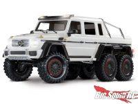 Traxxas TRX-6 Mercedes White