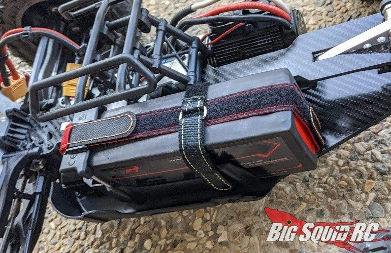 Amped RC Kevlar Battery Straps ARRMA 6S Trucks