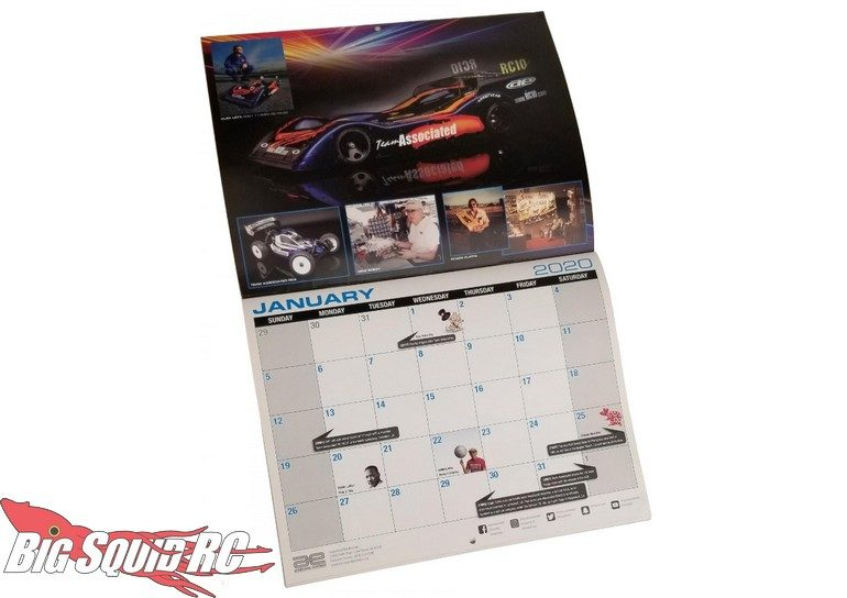Associated Electrics 2020 Calendar RC