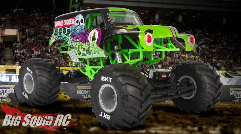 Axial Racing SMT10 Grave Digger Monster Jam RTR Video
