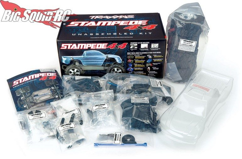 Traxxas 2WD To 4WD Conversion Stampede 4x4 Kit