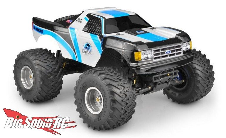 JConcepts 1989 Ford F-150 California Traxxas Stampede Body