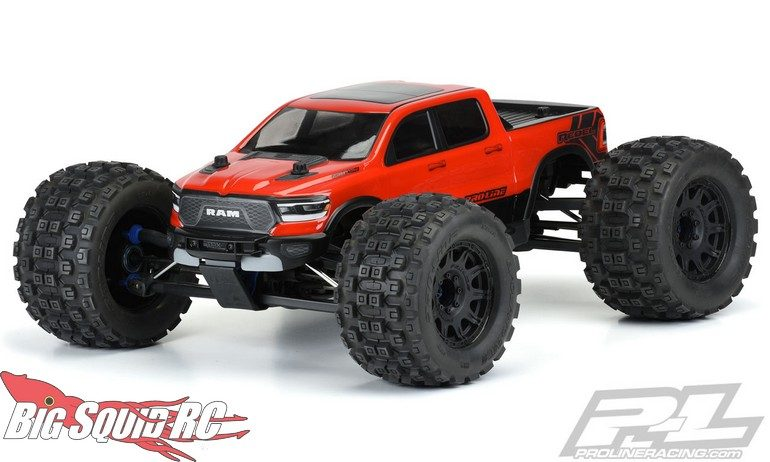 Pro-Line Pre-Cut 2020 Ram Rebel 1500 Clear Body