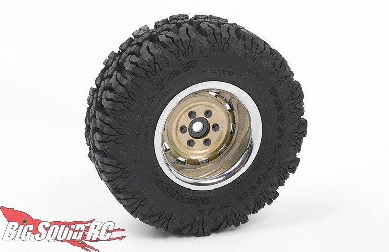 RC4WD Rally 1.9 Gold Beadlock Wheels