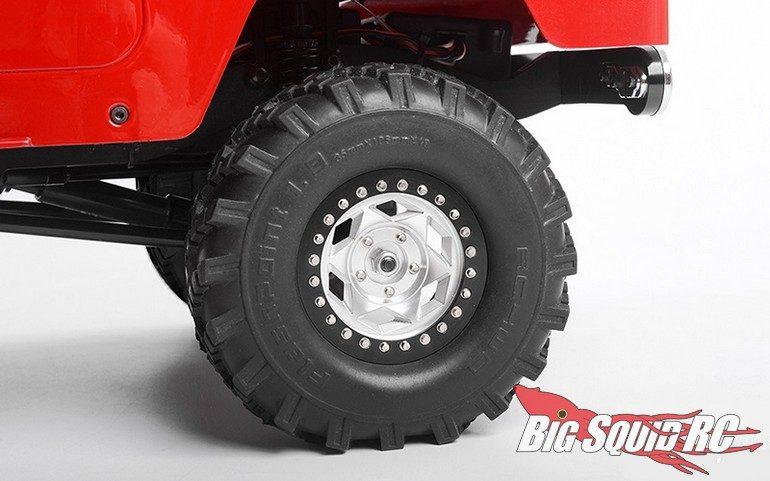 RC4WD Rogue 1.7 1.9 Aluminum Wheels