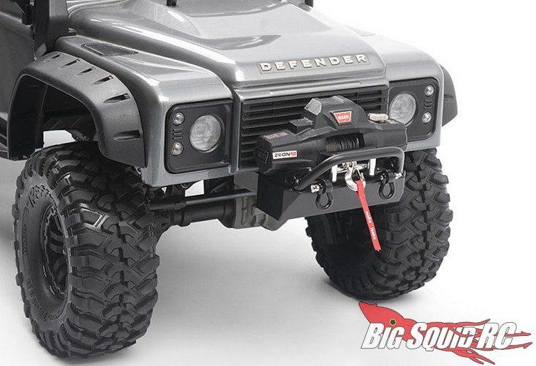 RC4WD Stubby Winch Bumper Traxxas TRX-4