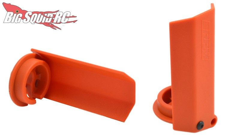 RPM Orange Shock Shaft Guards Traxxas X-Maxx