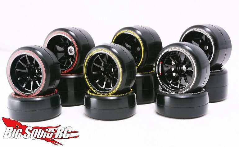 Sweep Racing F21 Low Profile F1 Tires