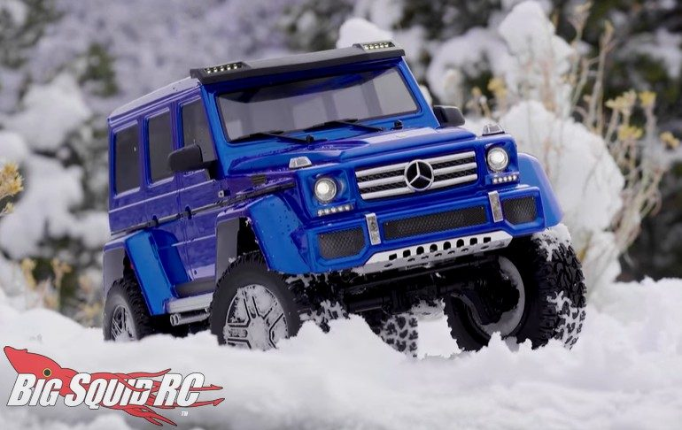Traxxas TRX-4 Winter Wonderland Video