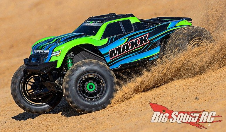 New Colors Traxxas Maxx Monster Truck