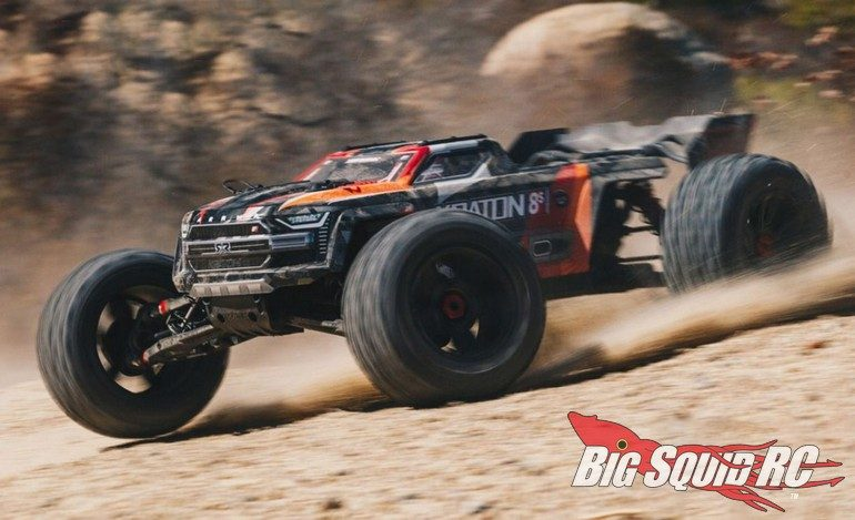 ARRMA Full Line Action Video Kraton 8S